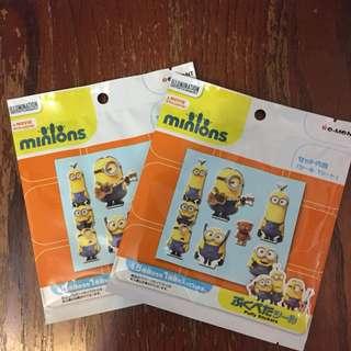 Minions Puffy Stickers