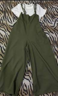 Jumpsuit olivegreen