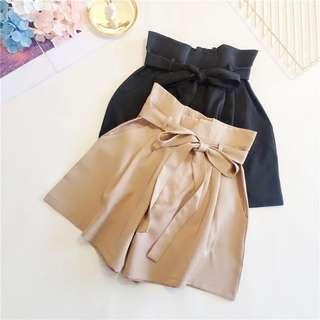 🚚 High Waist Short Culottes