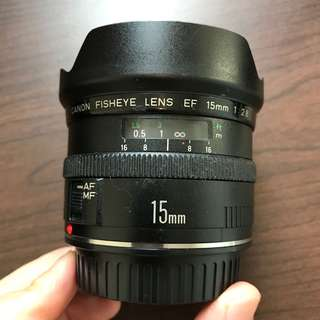 Canon 15mm f2.8 Fisheye