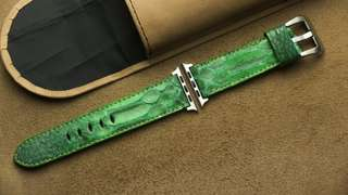 🚚 Apple watch strap / band Python leather, Apple watch strap / band 42mm, Apple watch strap / band 38mm, Apple watch strap / band men, Apple watch strap / band leather