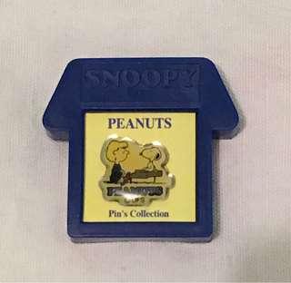 Snoopy peanuts pin (絶版)