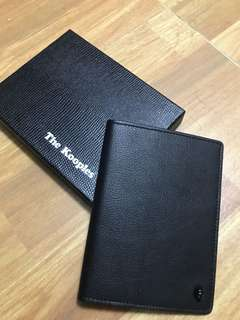 Kooples Passport leather Case