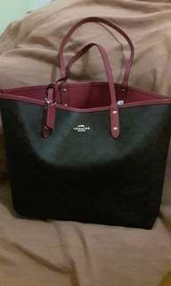 Coach Canvas Tote Bag *price negotiable*