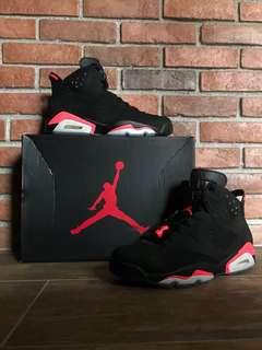 Air Jordan 6 infared size 9