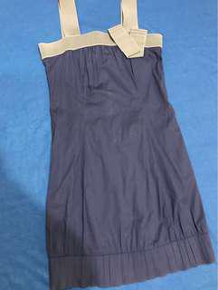 Plains & Prints Blue Dress