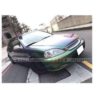 1998年 - 本田 - K8 手排(代步好開.玩車首選) 『輕鬆低月付』怎麼輕鬆貸.讓我來幫你!