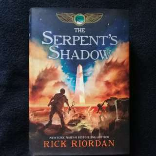 Serpent's Shadow - Rick Riordan (hard cover)