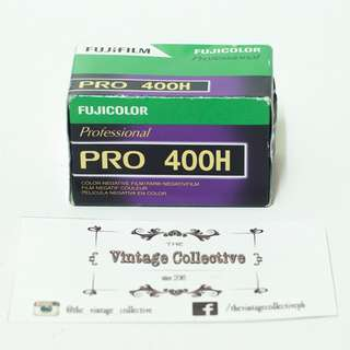 Fujifilm Fujicolor Professional PRO 400H 35mm film (36 shots)