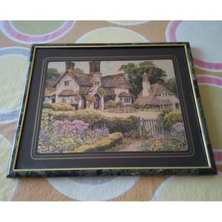 Landscape Painting Wall Art  can be hung on wall or place on desk/table
