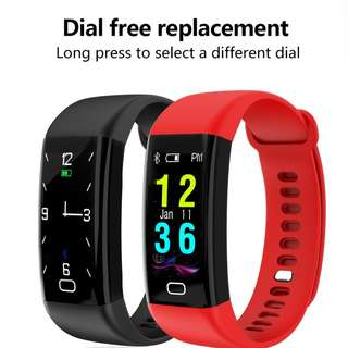 824. F07 Smart bracelet heart rate monitor Blood Pressure Fitness Tracker watch for ios android PK xiaomi miband2