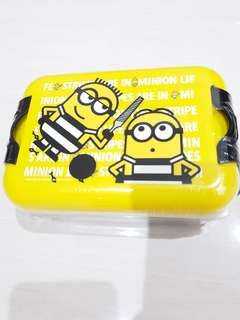 Kotak makan anak anak minion / lunch box minion