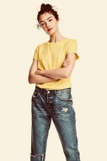 H&M Yellow T-Shirt