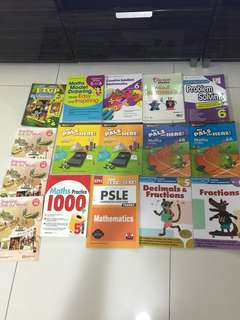 Primary 5 & 6 Maths, Science, English, Chinese, Social studies FTGP text book and assessment