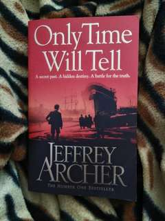 English Novel - Only Time Will Tell by Jeffrey Archer