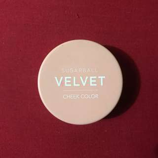 Sugarball Velver Cheek Color