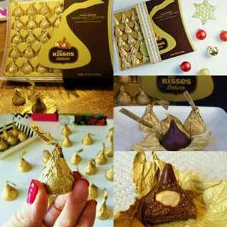 Imported Kisses Deluxe Whole Roasted Hazelnut Center 288g #SALE 🍫🍫🍫😘💕