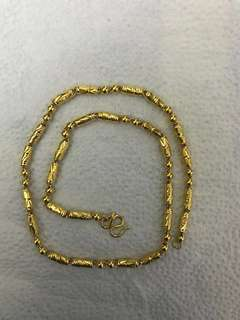 Chinese pure Gold chain 999.9