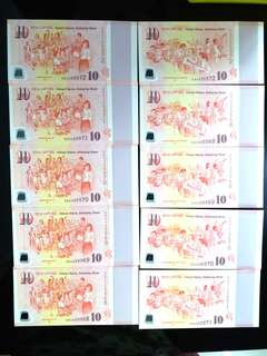 SG50 Commerative notes