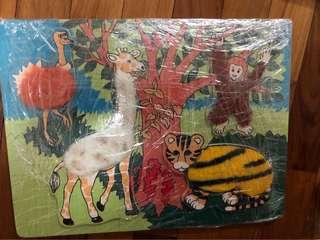 Wooden Puzzle (Animals)