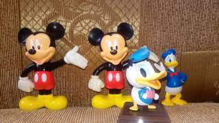 Mickey and donald toys