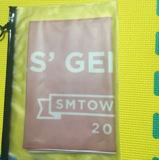🚚 Smtown2014少女時代 官方應援毛巾