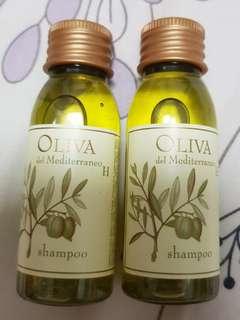 Olive shampoo travel size 15ml each