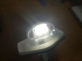 HONDA License plate lamp LED