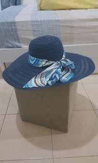 Blue Sunhat