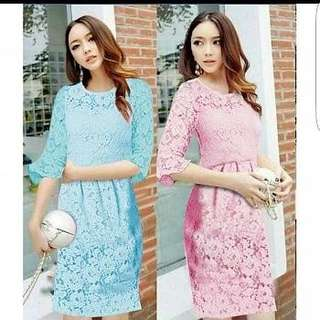 Dress Donita 2W Full brukat