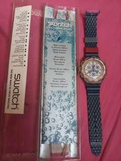 1995 swatch chrono 200 watch
