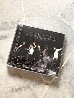 TVXQ Mirotic CD+DVD