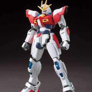 全新 Build Burning Gundam HG 高達 創建爆熱 Build Fighter