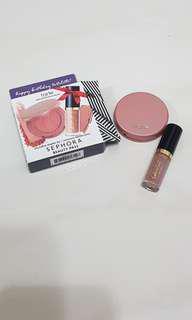 Tarte amazonia clay blush and tarteist lip paint