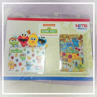Set of 2s Nets Flashpay Cards Sesame Street Bundle 2018 + FREE Post