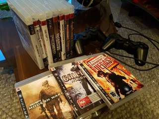 PS3 Games & Controllers! Sold together as a bundle.