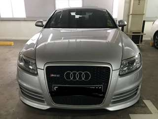 Audi RS6 V10 Engine 571HP
