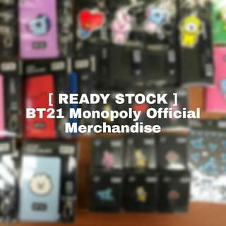[ READY STOCK ] BT21 X Monopoly Merchandise