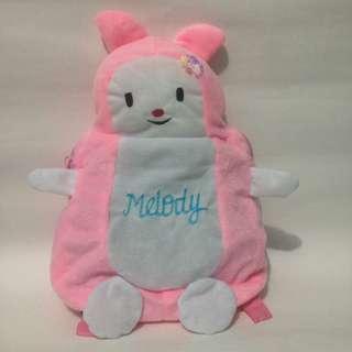 Tas boneka ransel melody pink/tas anak pg/tas anak perempuan