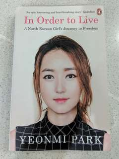 Yeonmi Park- In Order To Live