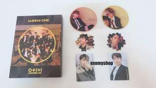 [Ready Stock]WANNA ONE - Mini Album Vol.2 [0+1=1(I PROMISE YOU)]  Night ver with poster Brand New