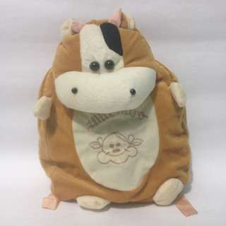 Tas boneka ransel moo coklat/tas anak pg/tas anak laki/tas anak perempuan