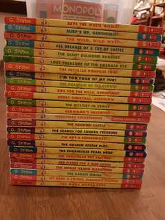 25 Geronimo Stilton Books