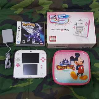 Nintendo 2ds peach pink limited edition