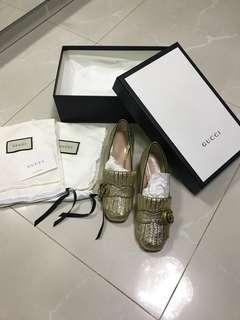 Gucci Marmont Mid-Heels 全新