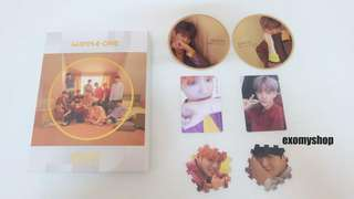 [Ready Stock ]WANNA ONE - Mini Album Vol.2 [0+1=1(I PROMISE YOU)]  Day ver with poster Brand New