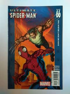 🚚 Marvel Ultimate Spider-Man Rare Issue 66