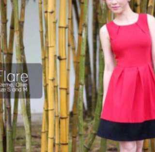 Ohvola flare dress