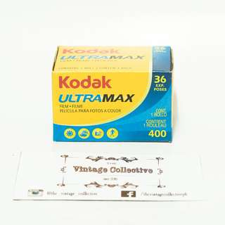 Kodak GC/UltraMax 400 Expired 35mm Color Film (36 shots)