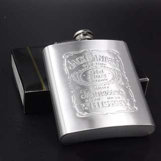 Jack Daniel's whisky bottle [Stainless steel]